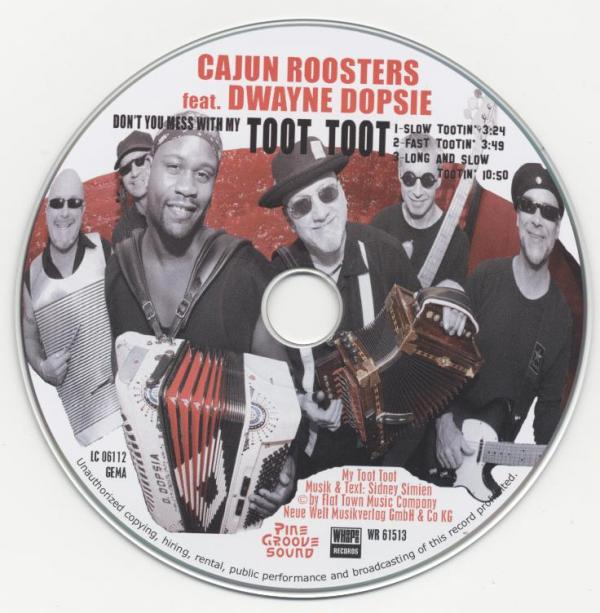 Dayne Dopsie and Cajun Roosters